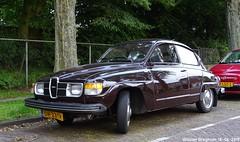 Saab 96 1978 (XBXG) Tags: dh23tr saab 96 1978 v4 saab96 brown terspijtstraat haarlem nederland holland netherlands paysbas vintage old classic swedish car auto automobile voiture ancienne suédoise sverige sweden zweden vehicle outdoor