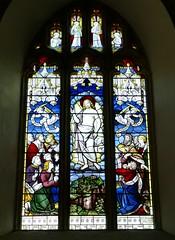St. Mary's Church, Winterborne Whitechurch, Dorset (Living in Dorset) Tags: wynne 1886 burlisongrylls stainedglasswindow ascension churchwindow church window stmaryschurch winterbornewhitechurch dorset england uk gb