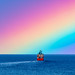 Grampian Corsair Sailing into Tonights Rainbow off Aberdeen ..