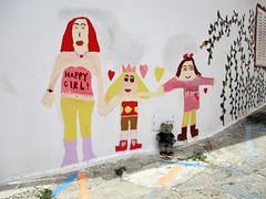 Cool street art! (pefkosmad) Tags: teddy bear tedricstudmuffin ted animal cute toy cuddly fluffy plush soft stuffed rhodes greece greekislands griechenland hellas dodecanese holiday vacation vacances holibobs tourist fanes streetart graffiti