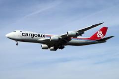 LX-VCD Boeing 747-8R7F/SCD cn 35809 ln 1436 Cargolux Los Angeles 23Feb19 (kerrydavidtaylor) Tags: lax klax losangelesinternationalairport california luxembourg boeing747 boeing747800