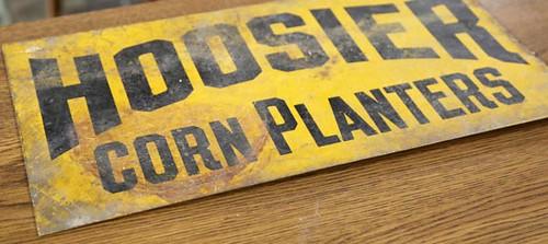 Hoosier Corn Planters Sign ($100.80)