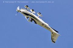 0996 Tutor (photozone72) Tags: raf tutordisplay grobtutor tutor wingswheels dunsfold dunsfoldpark aviation aircraft airshows airshow canon canon7dmk2 canon100400f4556lii 7dmk2