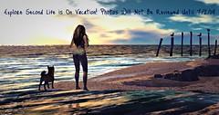 Explore Second Life Vacation (Sivyaleah (Elora)) Tags: second life sl virtual beach sunset