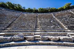 Theater at Epidarus (doveoggi) Tags: 8566 greece epidarus europe theater steps seats stone worldtrekker