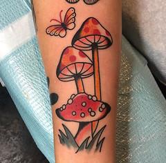 Courtney O'Shea - Black 13 Tattoo