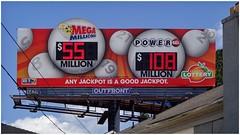 Georgia Lottery Billboard   Piedmont Road at Cheshire Bridge   Atlanta, Georgia (steveartist) Tags: signs billboards georgialottery superbillboard sonydscwx220 snapseed photostevefrenkel
