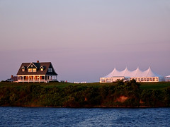 photo - Sunset, New Harbor, Block Island (Jassy-50) Tags: photo newharbor blockisland rhodeisland sunset tent bluff
