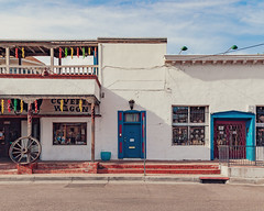 (el zopilote) Tags: street signs newmexico architecture canon eos cityscape albuquerque fullframe oldtown canonef24105mmf4lisusm 5dmarkii powerlines oldtownplaza fullframealbuquerque us66