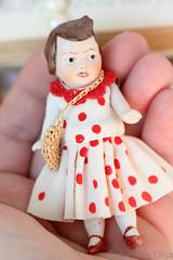 IMG_3073f (Olga Farberova) Tags: mignonette minidoll porcelaindoll antiquegermandoll vintagedoll miniaturedolls miniatureteddybears limbachdoll hertwig limbach bisquedoll