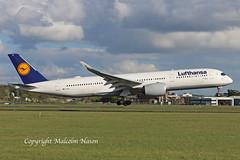 A350 D-AIXA LUFTHANSA 3 (shanairpic) Tags: jetairliner passengerjet a350 airbusa350 shannon lufthansa daixa
