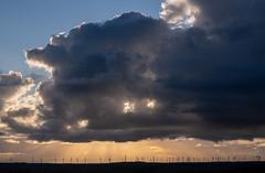 (Ian McClure) Tags: pentax turbines ayrshire scotland clouds