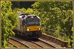 On the Nose! (peterdouglas1) Tags: valleyflasks 6d43 directrailservices class88 stadler vossloh talybont viaducts 88008 ariadne