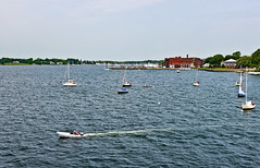 photo - Bristol Harbor, Rhode Island (Jassy-50) Tags: photo bristol rhodeisland bristolharbor harbor boat sailboat