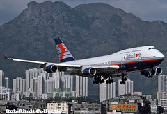 Canadian Airlines B747-475 C-FCRA (planepixbyrob) Tags: canadian canadianairlines cpal boeing 747 747400 jumbojet retro kaitak kodachrome hongkong hkg cfcra