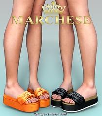 Marchese X Dubai (~MARCHESE~) Tags: maitreya marchese dubai secondlife shoes slink mesh