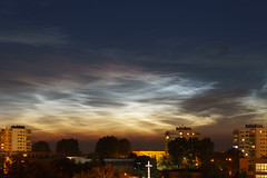 Srebrne Obłoki (Sonorov) Tags: srebrneobłoki noctilucent chmury konin clouds nlc