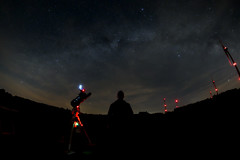 Shooting by night (lionbit76) Tags: night stars starfield milkyway galaxy telescope astronomy astrophotography