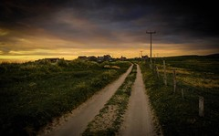 The Dark Road Home (val.moir) Tags: northuist theouterhebrides scotland road landscape moodysky