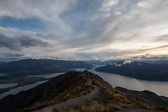 Roy's Peak (Cliver94) Tags: freezing cold snow ice winter nz new zealand south island wanaka roy roys peak bushwalk bushwalking nature beautiful landscape beauty hidden leading lines cloudy cloud clouds sunrise sun lake waterway river trek tramping tramp arduous up