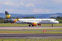 G-TCDR Airbus A321-211S Thomas Cook Airlines UK (Condor Flugdienst) MAN 21JUN19 (Ken Fielding) Tags: gtcdr airbus a321211s thomascookairlinesuk condorflugdienst aircraft airplane airliner jet jetliner aviation