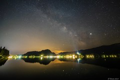 (rhronanhunt) Tags: milkyway slovenia lakebled astrophotography