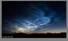 The Glowing Night Sky (cowgirl_dk) Tags: sky himmel meteorstøv meteordust lysendeskyer glowingclouds cloud clouds copenhagen københavn nørrebro noerrebro canonpowershotg7xii night nat natfotografi natfotografering natbillede nightshots nightphotography