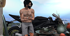 LOOK #166 @http://pixelphots.blogspot.com.br (gutolarix) Tags: kaostatoo burley navajo sl second mesh men male guys guto pixelphots access