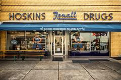 Hoskins Drugs (Thomas Hawk) Tags: america clinton hoskinsdrugs rexall tennessee usa unitedstates unitedstatesofamerica drugstore neon neonsign pharmacy fav10 fav25 fav50
