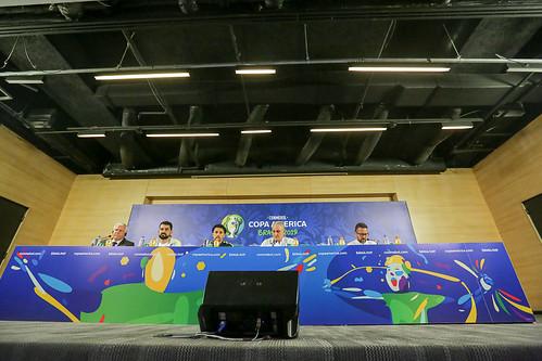 Coletiva de imprensa na Arena Corinthians