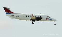 EZ Air Beech 1900D ~ PJ-EZA (© Freddie) Tags: aruba oranjestad renaissanceisland ezair beech beech1900d pjeza aua tnca tncaaua fjroll ©freddie