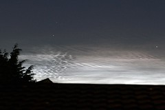 Noctilucent Clouds over Hampshire (Tim Aldworth) Tags: astrophotography noctilucentclouds eos7d ef70300mmf456lis havant nightsky hantsastro noctilucent hampshire uk summer solstice midsummerseve midsummer sky night odd strange mesosphere