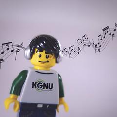 day 171 (Randomographer) Tags: project365 lego minifigs dj plastic man emo emotion figures posed series8 8833 kgnu music flow 171 365 vii 2019