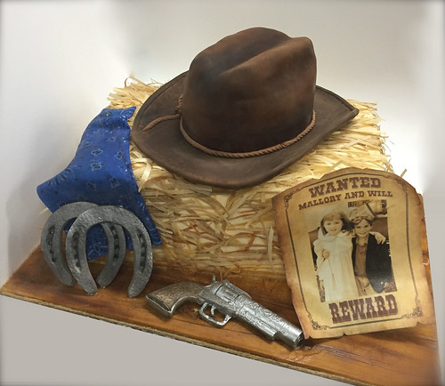 Strange Western Birthday Cake A Photo On Flickriver Funny Birthday Cards Online Aboleapandamsfinfo
