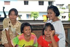 friends (the foreign photographer - ฝรั่งถ่) Tags: four preteen girls children khlong lard phrao portraits bangkhen bangkok thailand nikon d3200