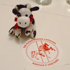Flying Horses Carousel (mag3737) Tags: flying horses carousel marthas vineyard decal sticker elwood cow