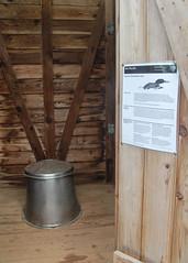 Interpretive outhouse (RPahre) Tags: outhouse interpretation loons isleroyalenationalpark isleroyale