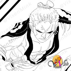 New World Wano Roronoa Zoro from One Piece (VixenMink) Tags: patreon dailyposts anime artistoninstagram お絵かき characterdesign digitalart doodle drawing fridayfeeling illustration illusttatoroninstagram instaart instaartist instagramartist loveanime mugiwara mugiwaranokaizoku muscles onepiece redraw roronoazoro sexy supportartists weeb zoro zorofans zorororonoa