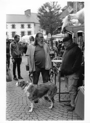 Jour de marché (ludob2011) Tags: bwfp film bw pentax xtol tmax street rue argentique market smc