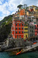 Riomaggiore (street level) Tags: italy cinqueterre riomaggiore architecture coastalcity italia colorful clifftown travelphotography europe cityscape nikonz