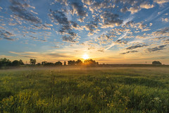 Morning (gubanov77) Tags: sunrise dawn landscape nature morning fog sun clouds savinskoe russia савинское sky summertime summer