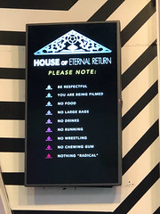 20190606-IMG_7724 Meow Wolf 04 (hirschwrites) Tags: earth meowwolf newmexico other santafe signs us usa westernus