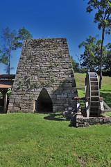 Mt. Vernon Iron Furnace (George Neat) Tags: mt vernon iron furnace mount industry stone stonework ore old historical landmark fayette county pa laurelhighlands outside georgeneat patriotportraits neatroadtrips pennsylvania