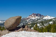 Lassen Volcanic National Park (rmstark3) Tags: lassen volcanic national park california usa rock geology blue sky boulder glacier trees