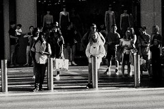 2019-06-22_11-11-25 (jumppoint5) Tags: blackandwhite bnw together street people urban city light shadow contrast
