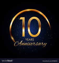 Template Logo 10 Year Anniversary Vector Illustration (clbtkd_6_2019) Tags: logo text champion decoration stamp years sign symbol commemoration celebration love season illustration number collection winner birthday seal wedding background remembered sport graduation ceremony selebration anniversary success marriage jubilee card label icon certificate age tradition badge congratulation invitation competition 10