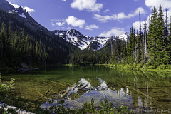 Summer Solstice 3666 (All h2o) Tags: royal lake olympic national park mountains water wilderness peninsula pacific northwest nature landscape forest trees sky clouds
