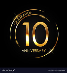 Template 10 Years Anniversary Vector Illustration (clbtkd_6_2019) Tags: logo text champion decoration stamp years sign symbol commemoration celebration love season illustration number collection winner birthday seal wedding background remembered sport graduation ceremony selebration anniversary success marriage jubilee card label icon certificate age tradition badge congratulation invitation competition romantic pattern 10