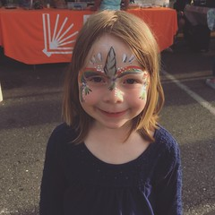 Now With Norah (matthewkaz) Tags: norah daughter child face paint facepaint unicorn jazzfestival eastlansing summer michigan 2019