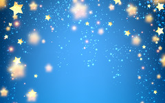 Background with stars. (clbtkd_6_2019) Tags: background card bluebackground star stars confetti illustration vector paper sky space cartoon magic pattern template ornament festive decor decoration blue blurred stripe design yellow golden cover art style wallpaper flickering luminous lights abstract creative poster holiday celebration party shiny element shape texture night colorful event bright year